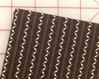 FAT QUARTER cut of Denyse Schmidt - Ansonia - Fine Stripe in Onyx -  by Free Spirit