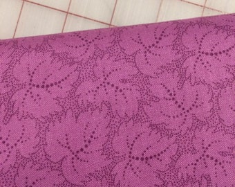 HALF YARD cut of Color Wall -  Leaf in Lavender Mist by Mary Koval for Windham Fabrics