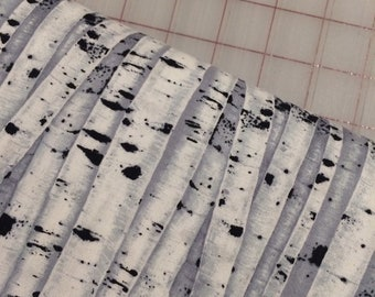 HALF YARD cut of Bird Song - Birch Wood by Timeless Treasures