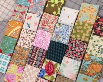 Fat 16 cuts - Designer quilting weight cotton Set of 29 - #223