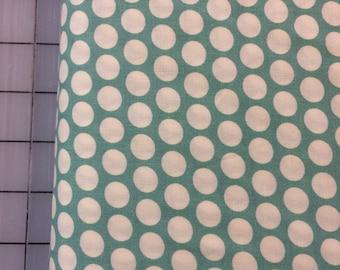 Half Yard cut of Organic Cotton - Mod Basics - Dottie Cream - MB-01-Pool