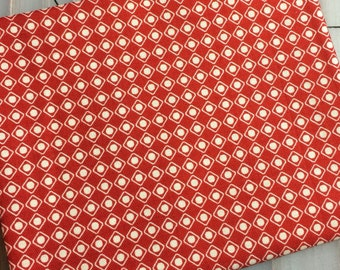 Riley Blake - Off Shore - FAT QUARTER cut by Deena Rutter C4926 in Red -   100% cotton