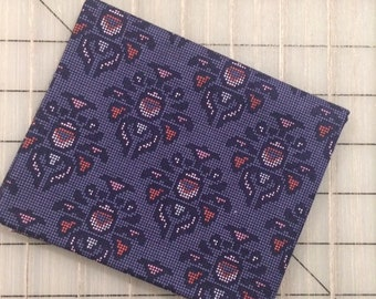 Riley Blake - FAT QUARTER cut of Midnight Rose - Damask in Navy by Gabrielle Neil