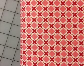 HALF YARD cut of Riley Blake - Modern Mini's by Lori Holt in Pink - C4766