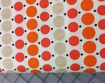 Denyse Schmidt - FAT QUARTER cut of Katie Jump Rope - Big Dot in Geranium - PWDS109 -  100% cotton by Free Spirit