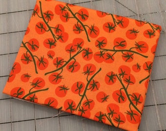 Windham - FAT QUARTER cut of Mazy - Cherry Tomato in Orange  - FQ cuts only!