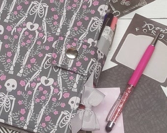 Planner Cover - in Bewitched fabric - F2