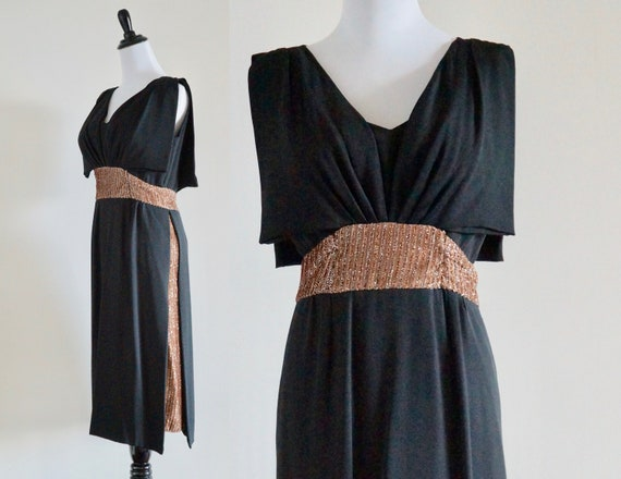 Exquisite Saks Fifth Avenue 1950s Cocktail Dress -