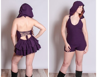 Bustle Booty Onesie, Romper, Playsuit, Festival Wear, Hoop Clothes, Organic Clothing, Hemp Clothing, Costume, Circus, Cosplay