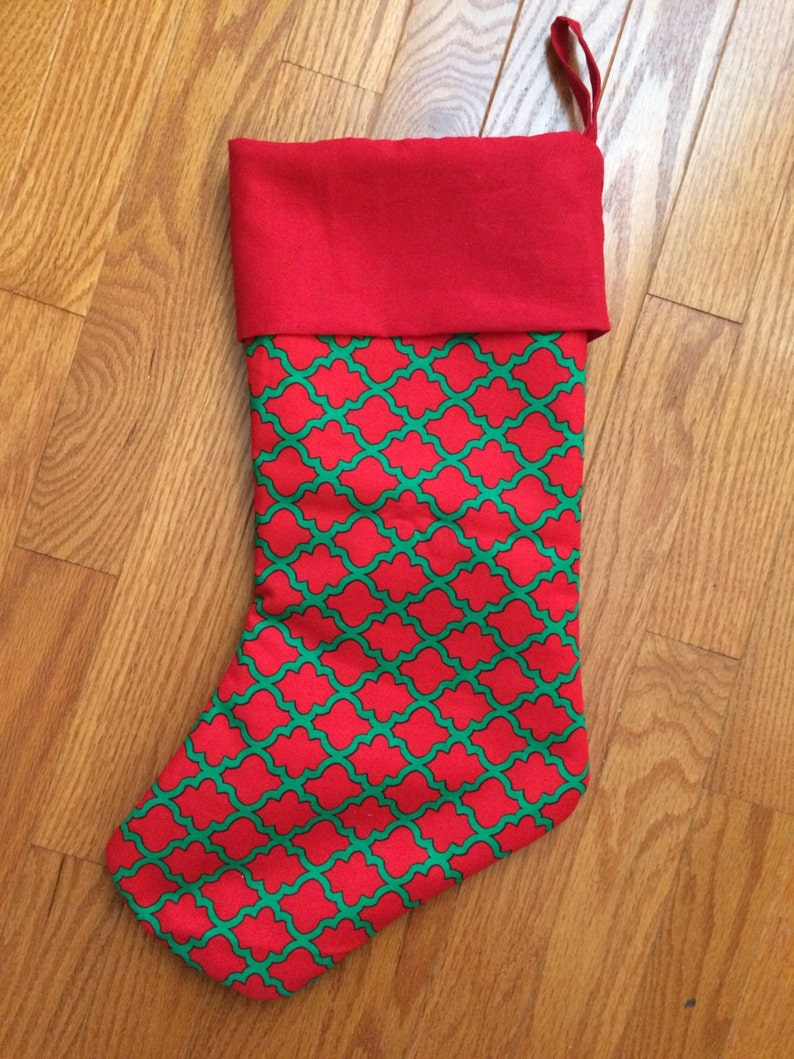Personalized Christmas Stockings image 0