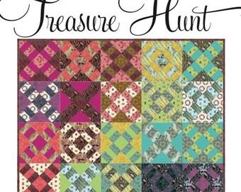 TREASURE HUNT Quilt Kit--Acacia by Tula Pink--FREE U.S. shipping