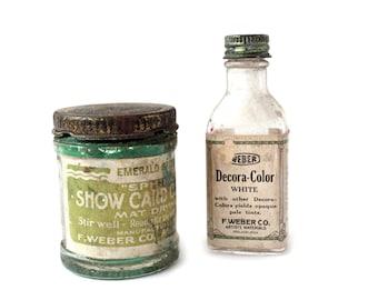 Vintage Art Bottles