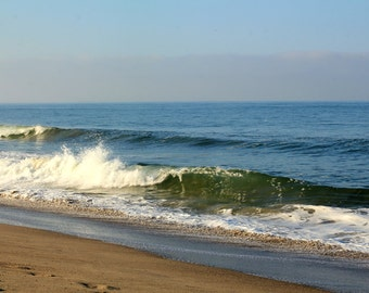 An Early Morning at Santa Monica Beach  - Photo Print - Size 8x10, 5x7, or 4x6