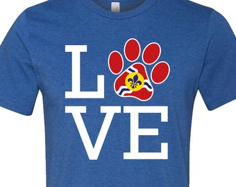 Paw Love STL Shirt
