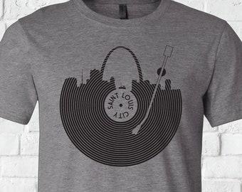 STL Record T-Shirt