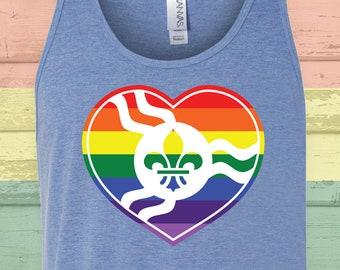 STL Rainbow Heart Tank