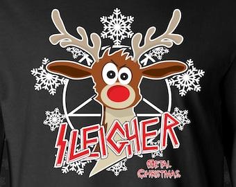 Sleigher Christmas Shirt