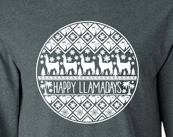 Happy Llamadays Tee