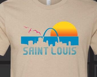 St Louis Beach Sunset