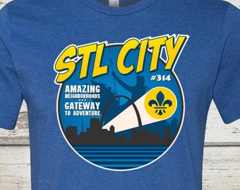 STL City Comic Book Shirt