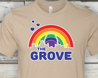 The Grove Rainbow Tee