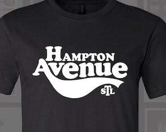 Hampton Ave, St. Louis, STL Shirt, St Louis Street, Hampton Avenue, St Louis Shirt, Saint Louis, STL Neighborhoods, South St Louis