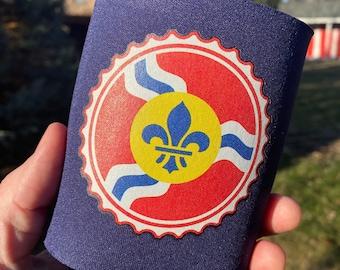 St Louis Beer Can Cooler