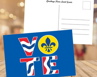STL Vote - Postcard Packs