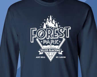 Forest Park Sled Racing - Long Sleeve