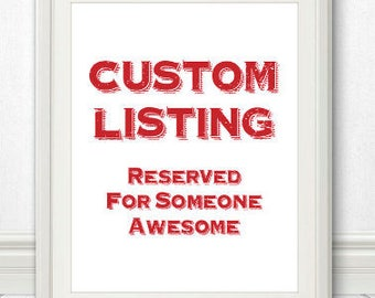 Custom Card Order