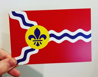STL Flag Postcard Packs