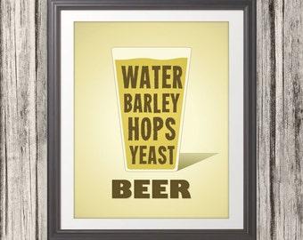 Beer and Bar Prints