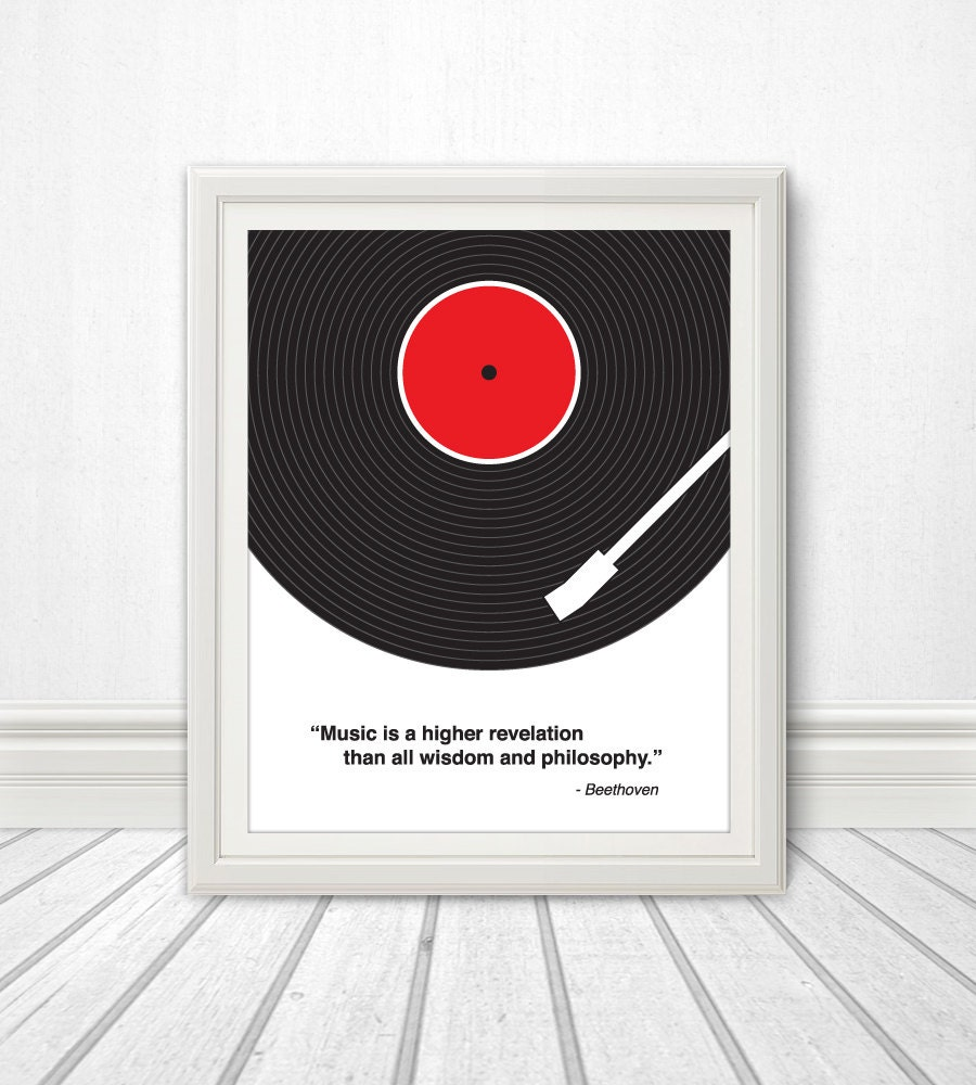 Custom Music Quote, Vinyl Record, Custom Lyric Print, Lyrics, Lyrics ...