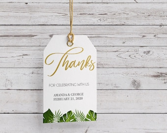 Thank you | Favor Tags