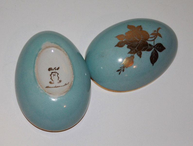 OOAK Hand Drawn Porcelain JewelryTrinket Dish