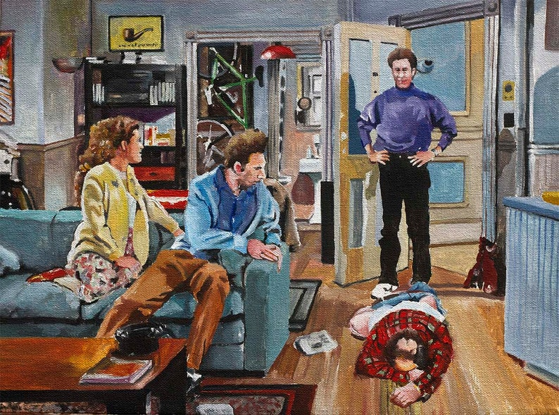 And You Want To Be My Latex Salesman Seinfeld Art Prints Etsy
