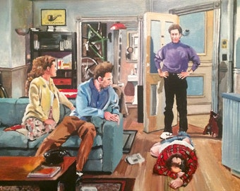 And you want to be my latex salesman! Seinfeld Art prints