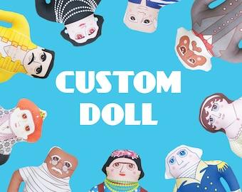 Custom Doll - Handmade Art Doll - OOAK