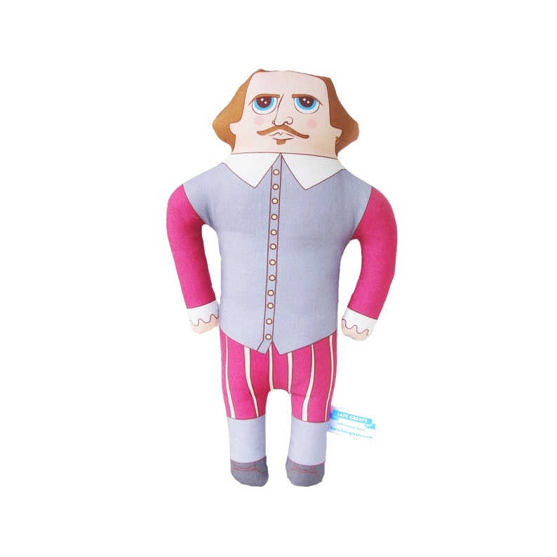 William Shakespeare Doll  LIMITED EDITION image 0