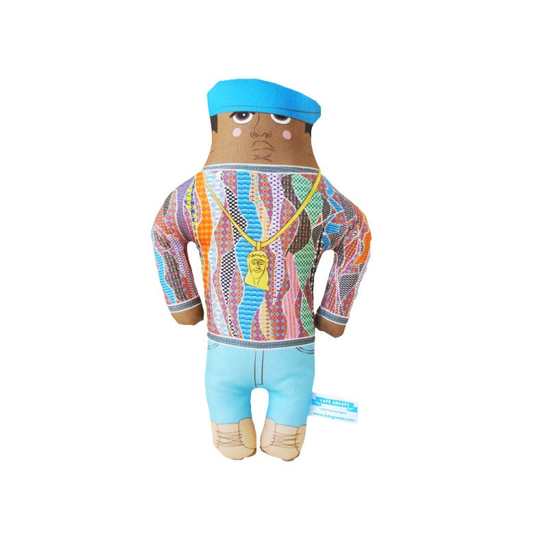 Biggie Doll  New York  Hip Hop  Handmade Art Doll  LIMITED image 0