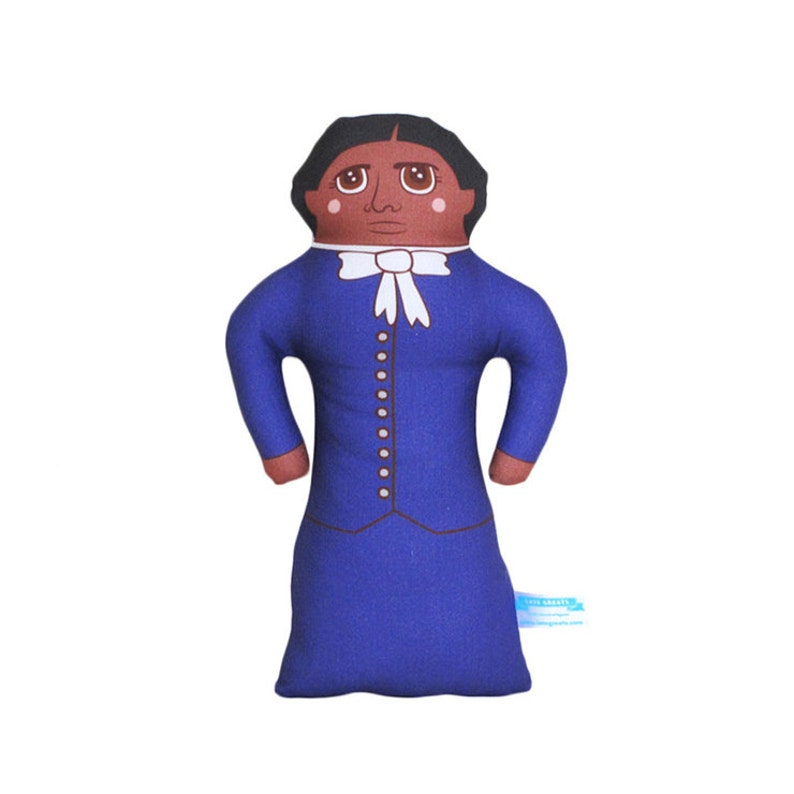 Harriet Tubman Doll  African American History Handmade Soft image 0