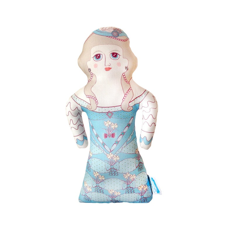 NEW  Marie Antoinette  Handmade Soft Art Cloth Doll  image 0