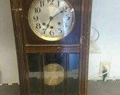 Antique Junghans Westminster Chime Clock