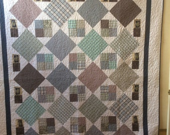 Custom memory quilt for Gloria