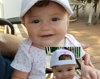 52051825d1f351 Infant Baseball Caps, Baseball Caps photo props, Toddler Baseball Caps,  Custom Baseball caps, Baby baseball and all sizes