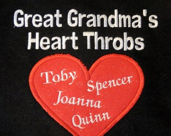 Personalized Sweatshirt for Grandma's, Mom's, Aunt's, Makes the Best gift