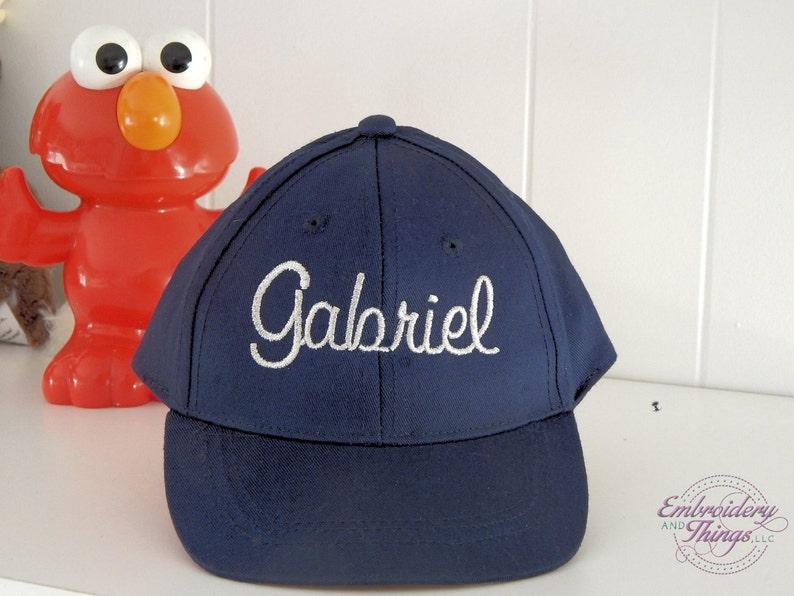 c07e8bcbc55 Infant baseball caps Personalized Baseball Caps baby s