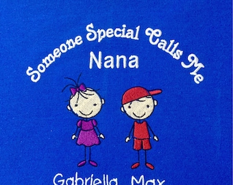 Personalized Sweatshirt for Grandma,  Mom's, Aunt, Sisters, etc...