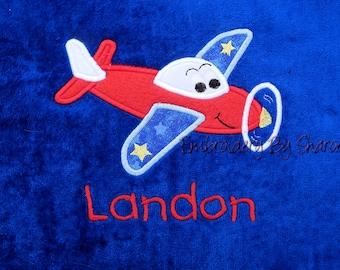 Kids Bath Towel, Airplane bath towels, personalized childrens gifts, childrens bath towels