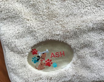 Dog blankets, Personalized Pet Blanket -Dog Blankets, Personalized Dog Blankets. Smaller size just for your dog or puppy blankets